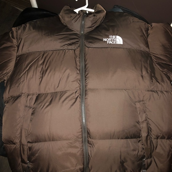82f542731b9f Brand New The North Face Nuptse Jacket-Brown